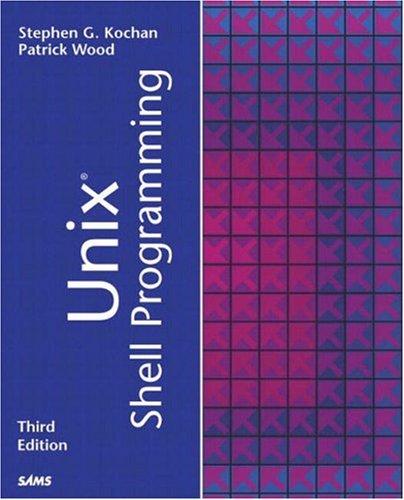 Unix Shell Programming 9780672324901