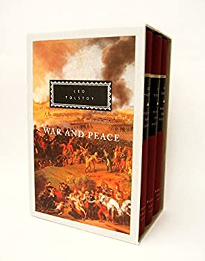 War and Peace: 3-Volume Boxed Set 9780679405733