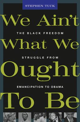 We Ain't What We Ought to Be: The Black Freedom Struggle from Emancipation to Obama 9780674062290