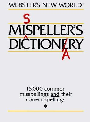 Websters New World Misspellers Dictionary 9780671468644