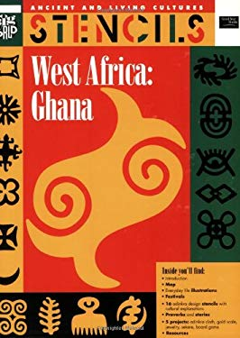 West Africa Ghana: Ancient and Living Cultures Stencils 9780673360533