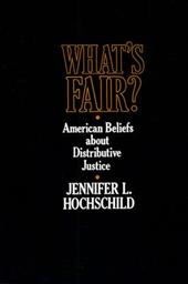 What's Fair: American Beliefs about Distributive Justice