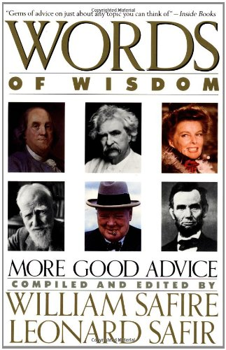 Words of Wisdom 9780671695873