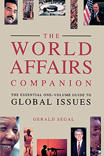 World Affairs Companion: The Essential One-Volume Guide to Global Issues 9780671741563