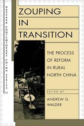 Zouping in Transition: The Process of Reform in Rural North China