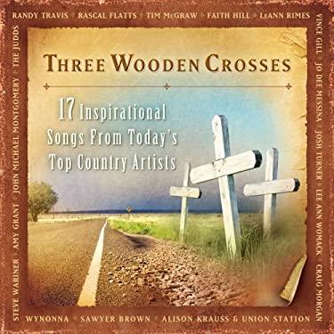 Three Wooden Crosses 0080688658229