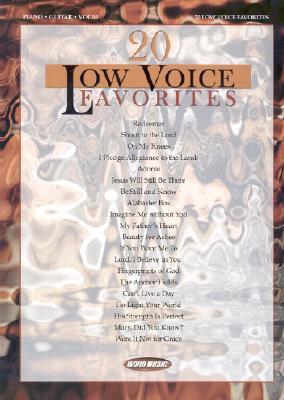 20 Low Voice Favorites