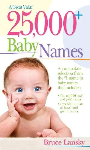 25,000 Baby Names 9780684034508