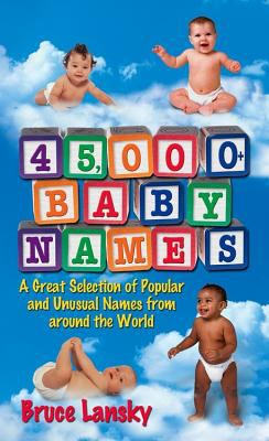 45,000 + Baby Names 9780684030890