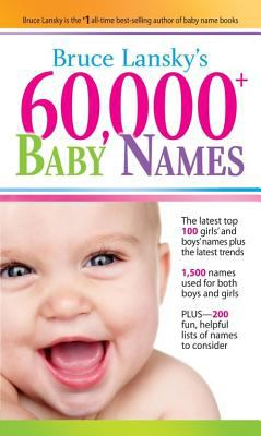 60,000+ Baby Names 9780684047027