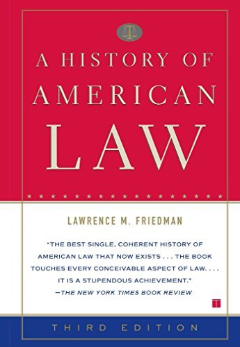 A History of American Law 9780684869889