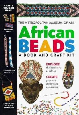 African Beads: A Book and Craft Kit 9780684867847