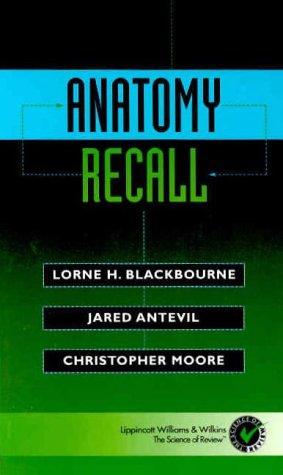 Anatomy Recall 9780683304367