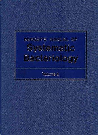 Bergey's Manual of Systematic Bacteriology 9780683079081