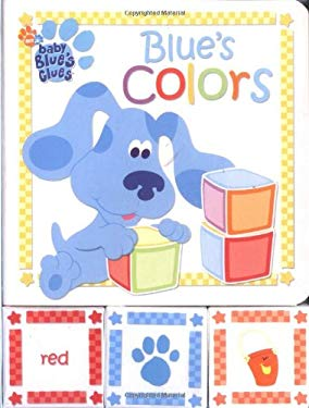 Blue's Colors: A Book and Blocks Play Set 9780689855023