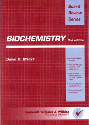Brs Biochemistry 9780683304916