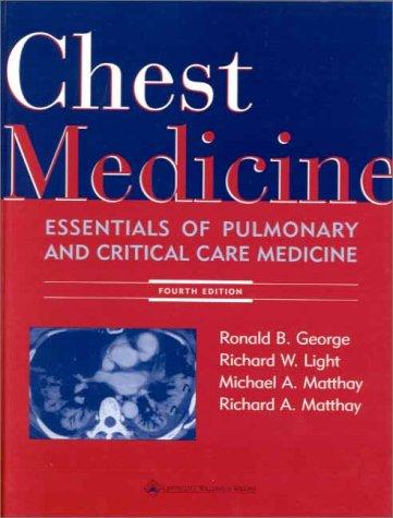 Chest Medicine 9780683306675