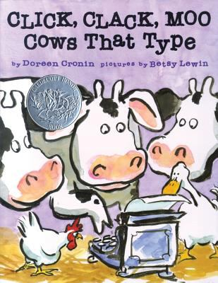 Click, Clack, Moo: Cows That Type 9780689832130