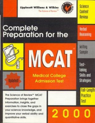 Complete Preparation for the MCAT 2000: Medical College Admissions Test 9780683307795