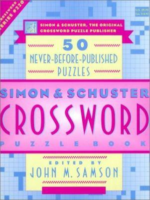 Crossword Puzzle Book 9780684869384