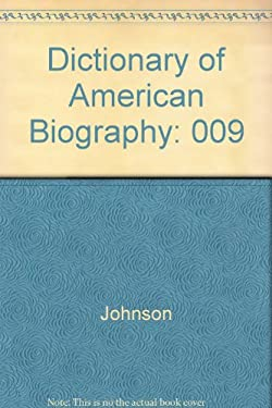 Dictionary of American Biography V9 9780684141466