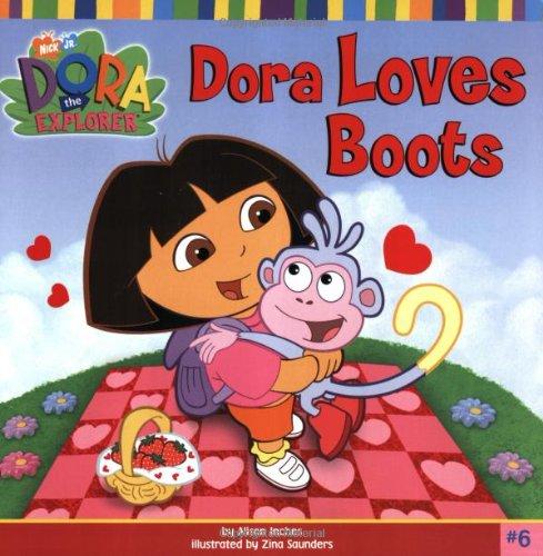 Dora Loves Boots 9780689863738