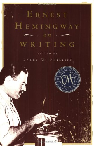 Ernest Hemingway on Writing 9780684854298