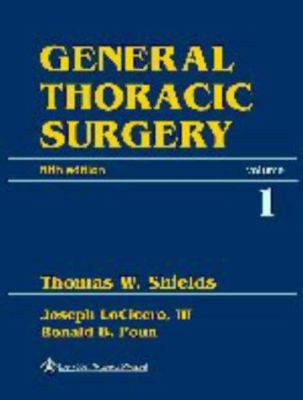 General Thoracic Surgery 9780683306194