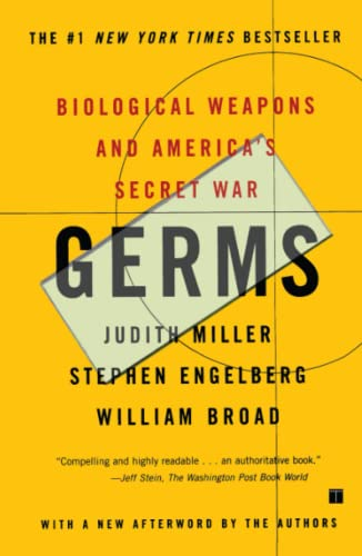 Germs: Biological Weapons and America's Secret War 9780684871592
