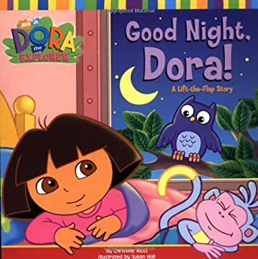 Good Night, Dora!: A Lift-The-Flap Story 9780689847745