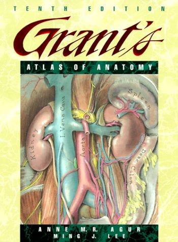 Grant's Atlas of Anatomy 9780683302646