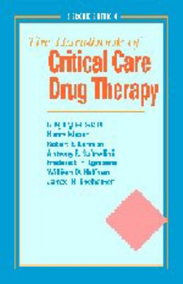 Handbook of Critical Care Drug Therapy 9780683302936