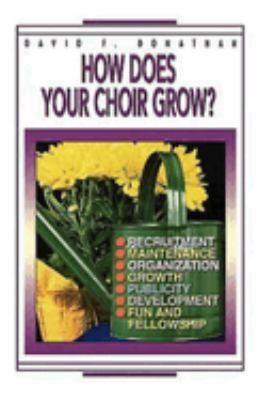 How Does Your Choir Grow 9780687010752