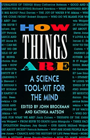 How Things Are: A Science Tool-Kit for the Mind 9780688149512