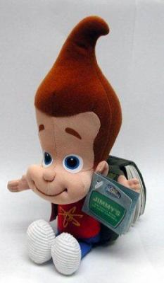 Jimmy S Backpack Book With Jimmy Neutron Doll By Simon