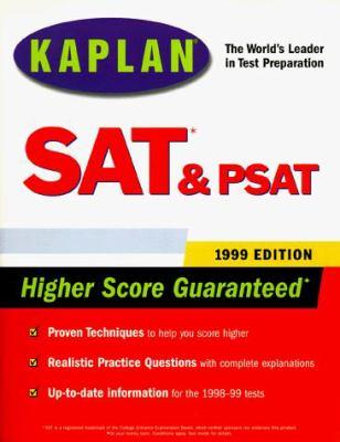 Kaplan SAT & PSAT 1999 9780684849805