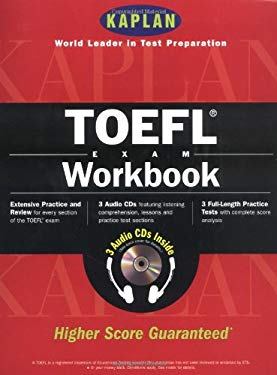 Kaplan TOEFL Workbook with 3 Audio CDs [With Audio CD's] 9780684870960