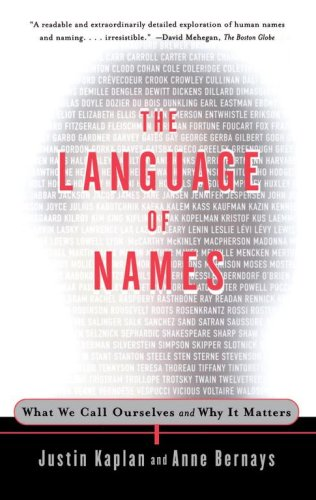 Language of Names: What We Call Ourselves and Why It Matters 9780684838670