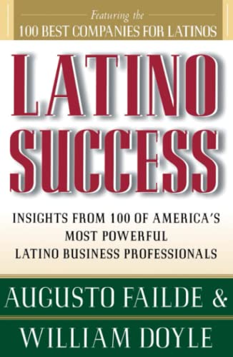 Latino Success 9780684833422