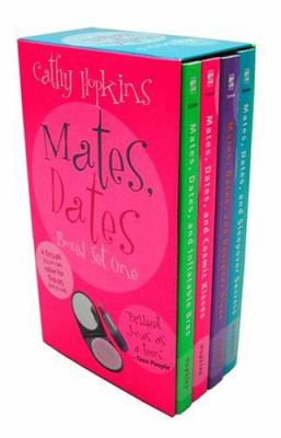 Mates, Dates Boxed Set One: Mates, Dates And... Inflatable Bras, Cosmic Kisses, Designer Divas, Sleepover Secrets 9780689037337