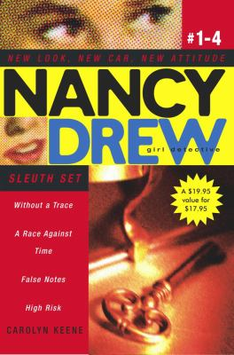 Nancy Drew Girl Detective Sleuth Set: Without a Trace/A Race Against Time/False Notes/High Risk 9780689036910