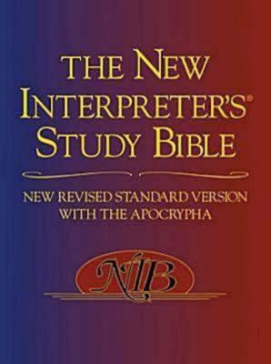New Interpreter's Study Bible-NRSV 9780687278329