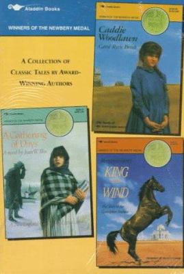 Newbery Medal Box Set: A Gathering of Days; Caddie Woodlawn; King of the Wind 9780689718885