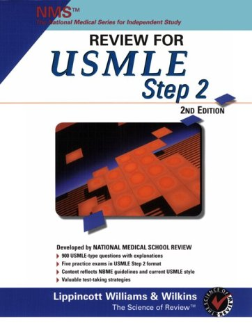 Nms Review for USMLE Step 2 9780683302837