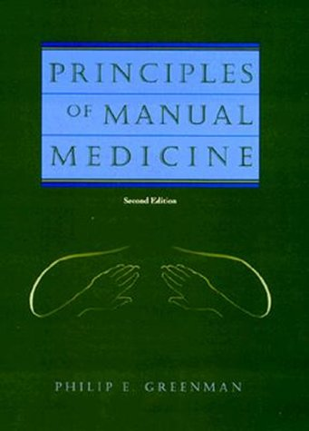 Principles of Manual Medicine 9780683035582