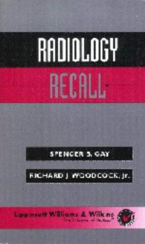 Radiology Recall 9780683306637