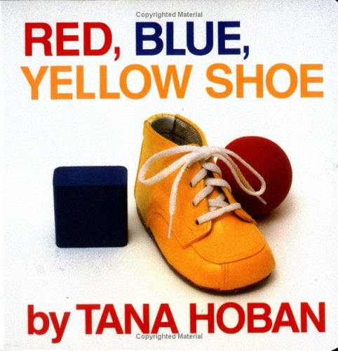 Red, Blue, Yellow Shoe 9780688065638