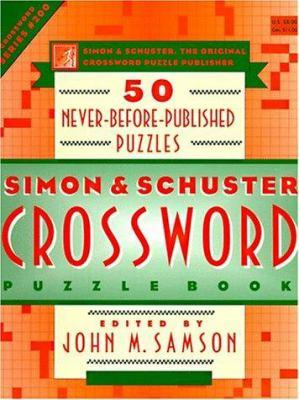 Simon & Schuster Crossword Puzzle Book 200 9780684842752