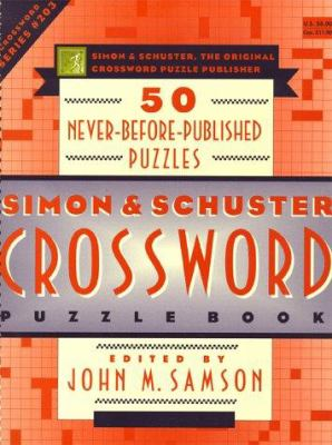 Simon & Schuster Crossword Puzzle Book 203 9780684843575