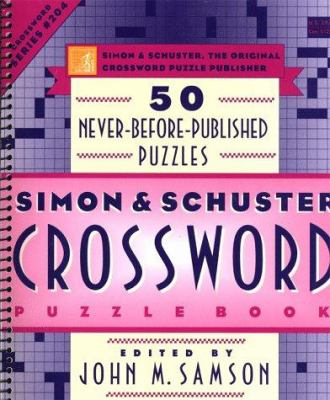 Simon & Schuster Crossword Puzzle Book #204 9780684843582